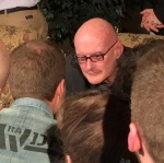 Ken Wilber with conference participants