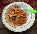 Fr. Tomasz's famous pasta